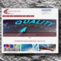 Eqasitalia Realizzazione sito Web con Forum riservato